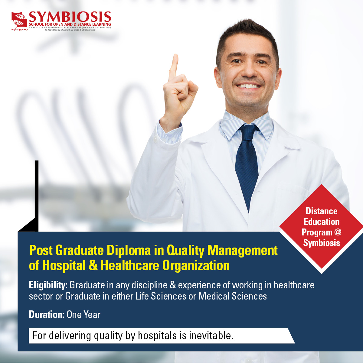 Hospital Quality Management Course